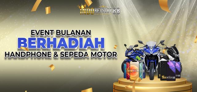 Bonus Bulanan Berhadiah Sepeda Motor Genio dan Handphone!